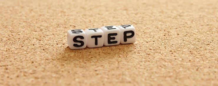 stepの文字